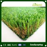 Vlak Type 40mm het Synthetische Gras van de Tuin van Vier Kleur