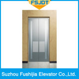 Elevatore del passeggero di Fushijia con l'acciaio inossidabile dello specchio e la decorazione del riflettore