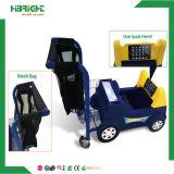 Carro de compras rentable plástico del juguete de los niños del supermercado para el bebé