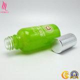 Botella de petróleo esencial del vidrio para empaquetar