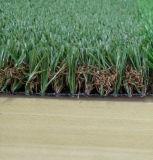 Hierba de alfombra artificial, estera artificial de la hierba de Synthteic, césped artificial de los deportes