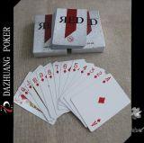Kundenspezifische rote Großhandelsspielkarten