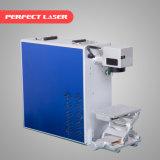 10W 20W 30W 휴대용 섬유 Laser 마커, 금속을%s 표시 기계
