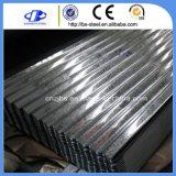 Feuille de toiture en acier galvanisé ondulé la plaque en acier