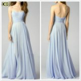 Silver Rag Party PROM Gown Vestidos Aline Evening Dress P16091