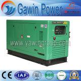 gerador Diesel silencioso de quatro cursos 60kw com o motor de China Shangchai