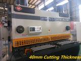 Plaque de tôle en acier inoxydable avec râteau de la machine de l'angle de coupe