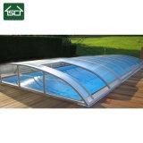De grote Dekking van de Pool met het Frame van het Aluminium en de Dekking van het Polycarbonaat