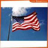 Imprägniern und Sunproof kundenspezifische Markierungsfahnen-amerikanische Flagge