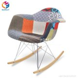 Bastidor de madera asiento de plástico Eames Silla de Comedor