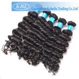 бразильский уток человеческих волос 100%Virgin с двойными слоями (KBL-BH-DW)