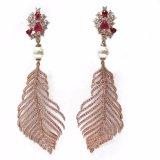 В раскрывающемся списке элегантные/Dangle/китайский классический стиль Tassel Rhinestone для женщин-участник подарком 925 серебряных украшений моды (E6988)