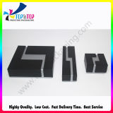 Design OEM de alta qualidade das embalagens de papel preto Caixa de jóias