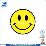 Haute qualité et peu coûteux Smiley Étiquette de l'autocollant
