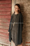 Fato do inverno do outono da forma do vestido de revestimento das senhoras do OEM