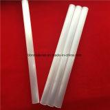 Tubo di vetro bianco latteo Polished del quarzo del silicone fuso