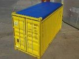 Coperchio senza coperchio del forte di 1000d 650GSM di standard 20FT 40FT del PVC contenitore rivestito della lama con i gommini di protezione