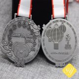 L'émail personnalisé de bonne qualité à bas prix de l'exécution de sports d'usine de la médaille de métal