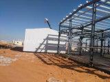 Estructura de acero de Peb del edificio del calibrador prefabricado de la luz