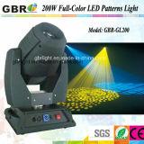 Iluminação do ponto do diodo emissor de luz do Gobo do poder superior do estágio Lighting/200W de Gbr