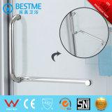 Bom preço do novo modelo de porta do chuveiro com bandeja de acrílico (BL-B0096-P)
