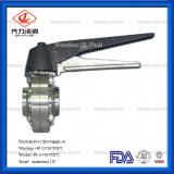 SMS/DIN/3A/Rjt Munual пневматического санитарных двухстворчатый клапан