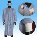 Vestido quirúrgico de SMS Steriled, vestido quirúrgico reforzado SMS disponible