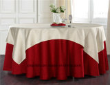 卸し売り円形の正方形のサイズポリエステル優雅な結婚式の食卓用リネン