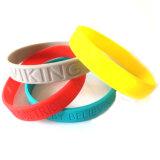 Высокое качество пользовательских Debossed силиконовый браслет для украшения