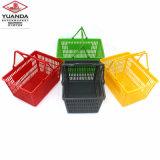 Корзина для товаров магазина супермаркета нового продукта используемая пластмассой для сбывания