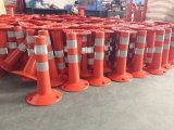 Postes en plastique concrets de la sûreté 80*800mm de chaussée