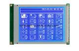 Modulo grafico 320*240, caratteri bianchi dell'affissione a cristalli liquidi su priorità bassa blu