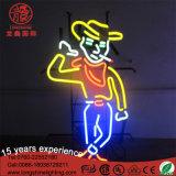 Lumière de motif de signe au néon de DEL pour la lumière extérieure de décoration de Noël
