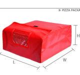 Primera entrega de pizza con aislamiento de calor bolsas Adelaida.