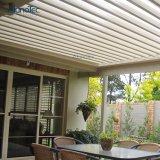 新しいデザイン粉のLEDライトが付いている上塗を施してあるルーバー屋根のPergola