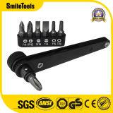 Комплект отвертки карманного привода размера 1/4-Inch миниый Ratcheting и ключа бита