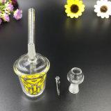 زجاجيّة [وتر بيب] [كفّ كب] يدخّن زجاجيّة أنابيب نقّار جهاز حفر
