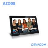 Einkaufszentrum volles HD an der Wand befestigte 21.5 '' LCD Spieler-Digital-Foto-Rahmen bekanntmachend