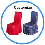 Rizó desechables baratos boda Silla de cubierta para la decoración de boda