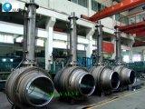 造られたステンレス鋼は十分にトラニオンによって取付けられた球弁を溶接した