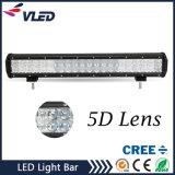 5D 20inch 126W Offroad LED 표시등 막대 결합 플러드 반점 일 빛