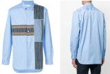 Camicia casuale degli uomini con la camicia di cotone di adattamento