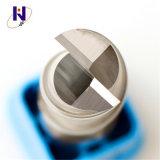 Molinos de extremo sólidos calientes de las flautas del carburo 2 del alto rendimiento para el aluminio del corte