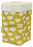 Weihnachtsdekoration-waschbarer Packpapier-Beutel-Lebensmittelgeschäft-Speicher-Korb stationär