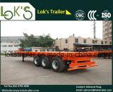 3 Axles Lowbed одиночный покрышки трейлер Semi