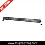 최고 밝은 52in 크리 말 300W는 Offroad LED 표시등 막대 줄 이중으로 한다