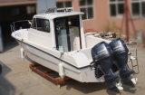 27FT Cabina de fibra de barco de pesca para venda