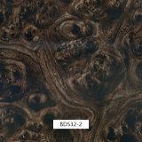 毎日の使用および車の部品Bds38Aのための1mの幅のHydrographicsの印刷のフィルムの木パターン