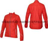 여자의 긴 소매 순환 재킷