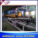 Автомат для резки плазмы CNC 5 осей скашивая для профиля стальной трубы